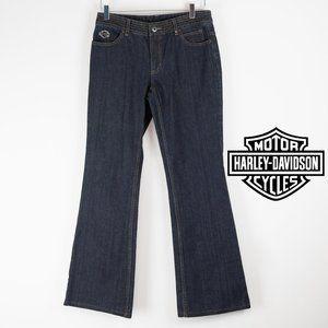 Harley Davidson Embellished Boot Cut Jeans NWT 6
